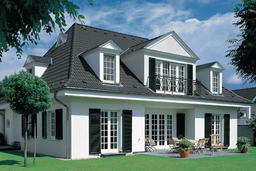 картинки домов серая крыша елагином